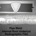 Pipe Weld Root Undercut