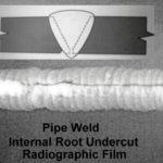 Pipe Weld Root Undercut